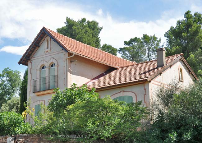 Samual Beckett's house in Roussillon