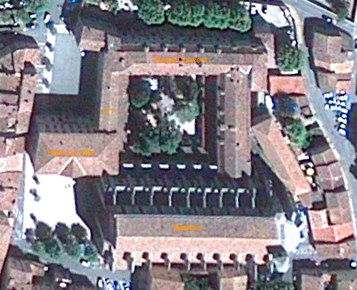 Aerial view of the Royal Convent
