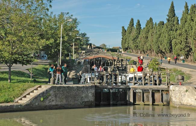 Fonseranes 9 locks photo