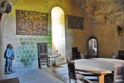 Puivert Castle Keep Guards Room with