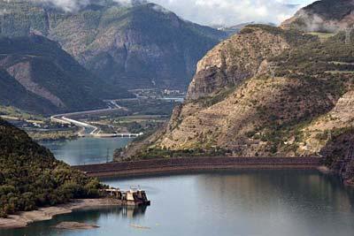 Lac Serre Poncon : Serre ponçon lake site visit photos and information by provence