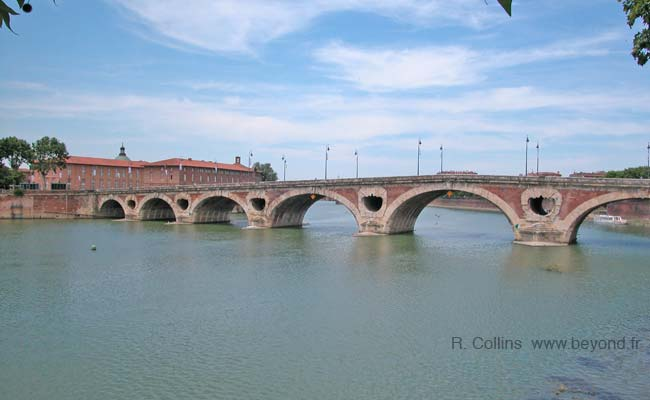 Toulouse bridge photo