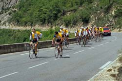 A cycling club outing on a