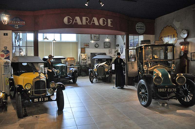 The Garage area of the Arpaillargues