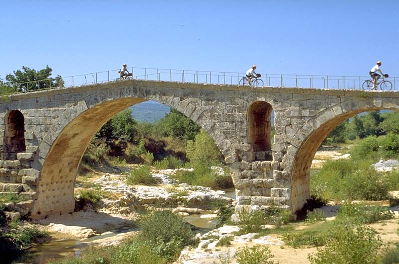 The Roman Pont Julien on the