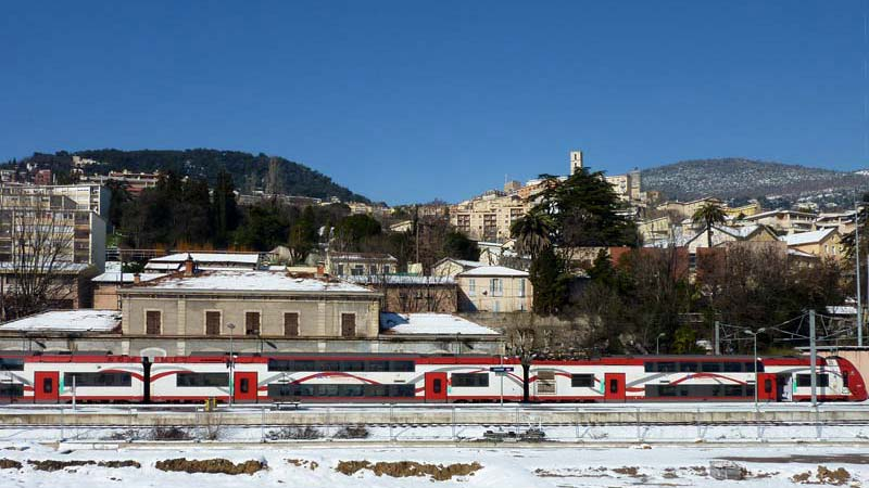 CannesGrasse Train Provence travel information and tips by