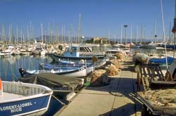 Fishing boats at Port Vauban, Antibes
