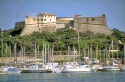 The Fort Carré in Antibes