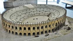 Arles Roman Arena at the time