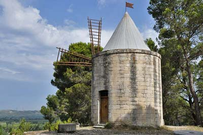 The 16th-century windmill <i>Moulin