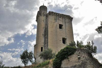 Barbentane's Medieval Anglica Watch Tower on