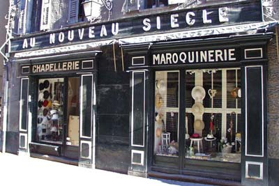 Barcelonnette hat store for the
