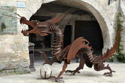 Beaucaire's <i>Drac</i> dragon, in