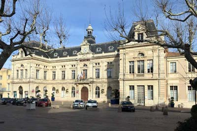 Bollène's grand 17th-century town hall