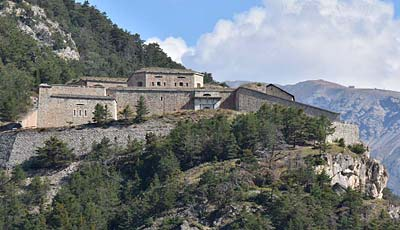 Vauban's 18th-c Fort des Salettes