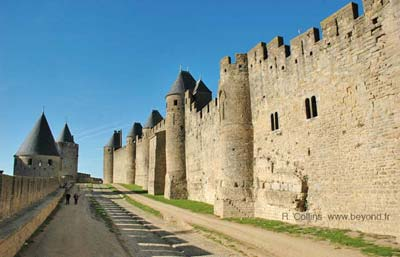 Double outer walls of Carcassonne