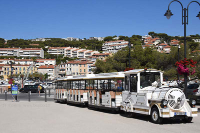 The Cassis 'road train' that tours