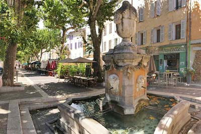 The Fontaine du Cours at the