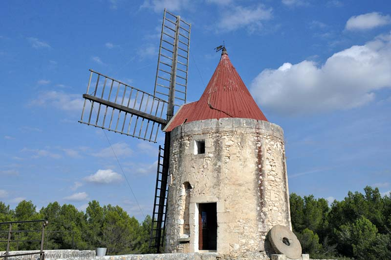 Daudet's windmill is just a few
