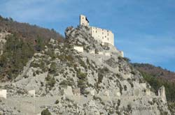 Entrevaux citadel fortress