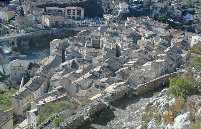 Entrevaux walled town