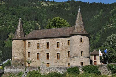 The lovely 13th-century Chateau de