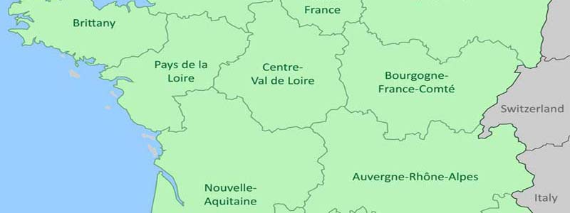 Map Of France Vendee Region.France Regions About The 21 Regions Of France By Provence Beyond