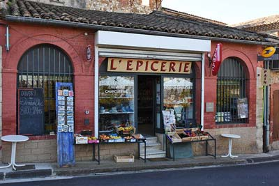 L'Epicerie is general store, café, post