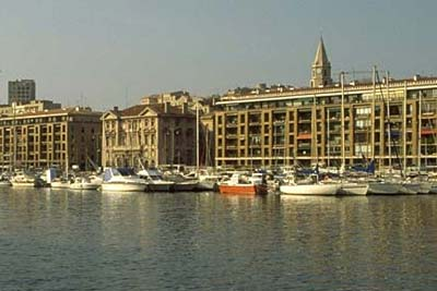 North side of Marseille old port