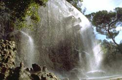 Waterfall on the