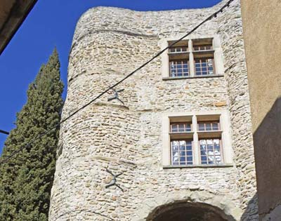 The 16th-c Feudal Castle tucked