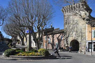 The 14th-century Porte Saint Gilles