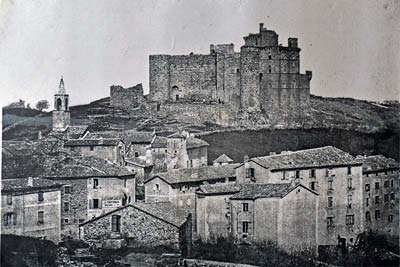 Old photo of the Chateau de