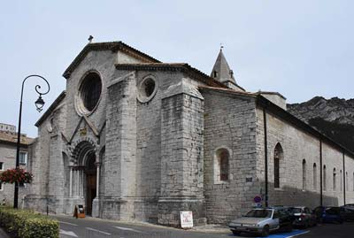 Sisteron's Cathedral Notre Dame et St