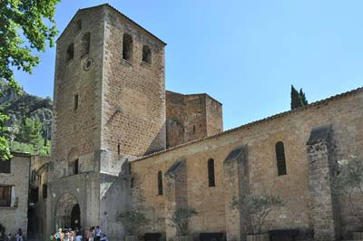 The Abbaye de Gellone on the