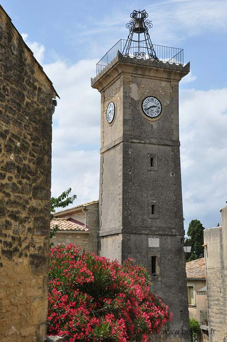 St Siffret bell tower with 19th