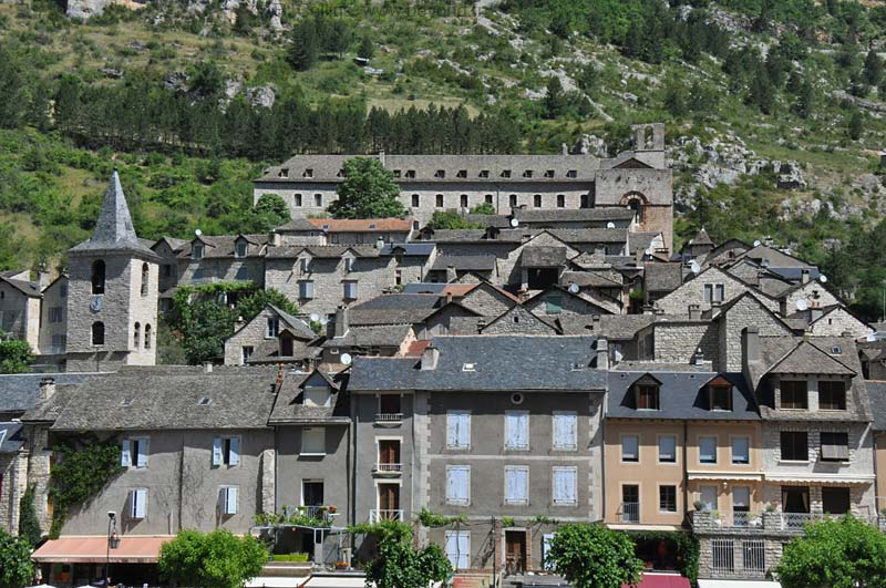 Center of Sainte Enimie, with the