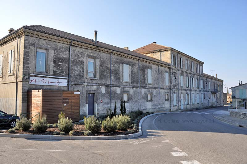The old silk factory of Taulignan