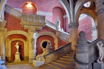Augustins Museum Darcy staircase, southeast corner