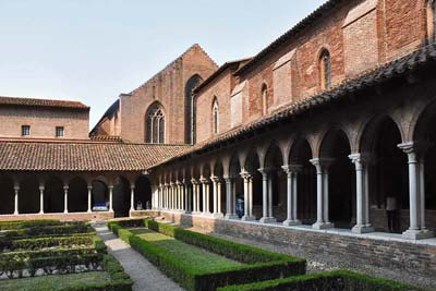 Augustins Museum exterior southwest corner on