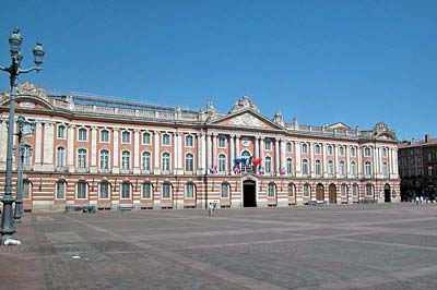 Capitolium of Toulouse, the Town Hall