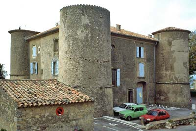 Chateau of Tourtour, in 1995, pre