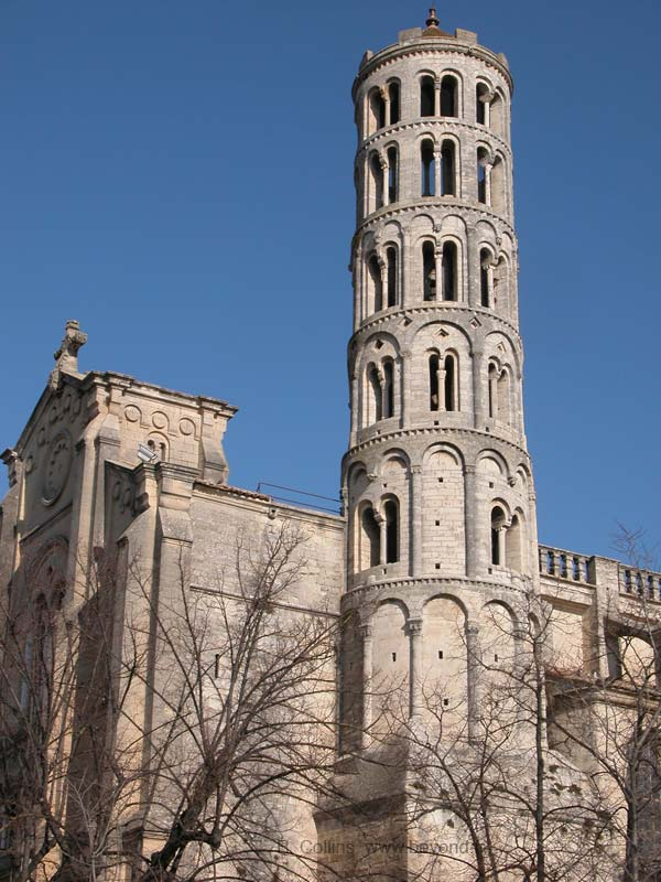 Uzes Fenestrelle Tower, 12th-c bell