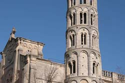 Uzès' Fenestrelle Tower, 12th-c bell