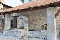 The main lavoir-fountain of Venanson