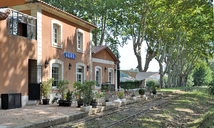 Jardin de la Gare restaurant at