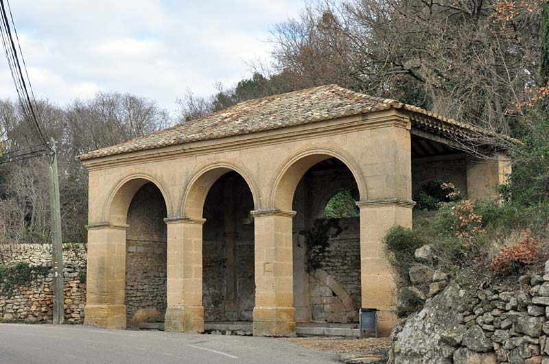 The Misserand covered lavoir is at
