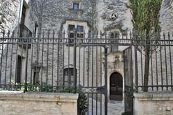 The 16th-century Hotel Montfaucon in